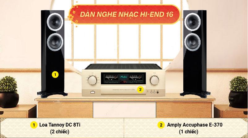 Dàn nghe nhạc Hi-End 16