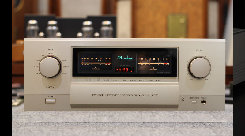 Amply Accuphase E650