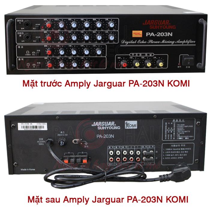 Có nên mua Amply Jarguar PA 203N nhập khẩu