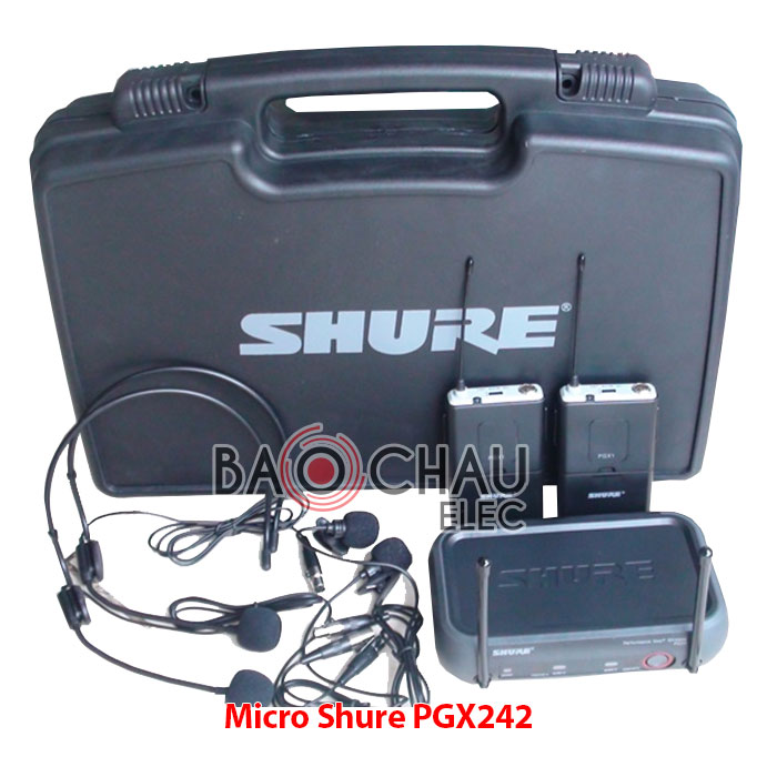 micro-shure-pgx242