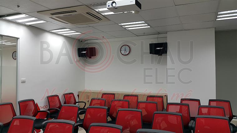 Dự án lắp đặt hệ thống âm thanh phòng học Apollo Phố Huế