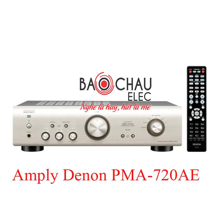 Amply Denon PMA-720AE