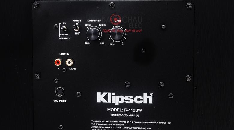 klipsch R-110sw 5