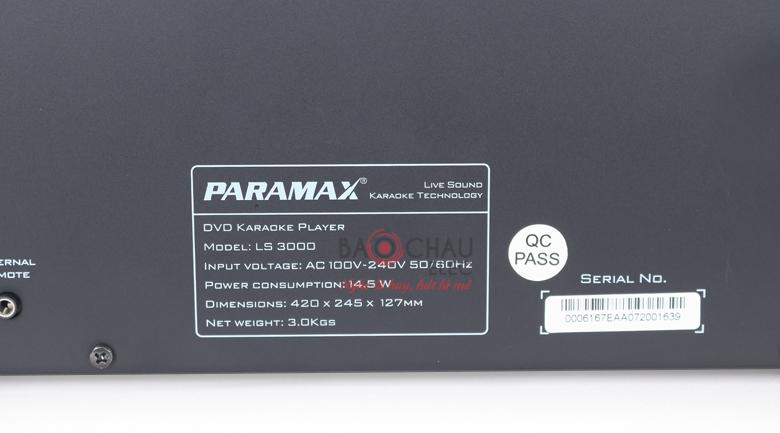 paramax ls 6