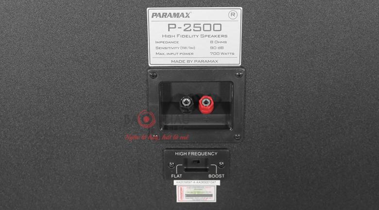 paramax p2500 3