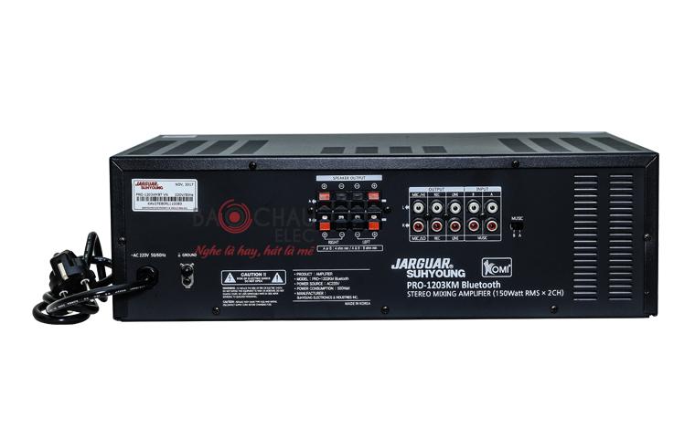 Amply Jarguar 1203KM Bluetooth - pic 07