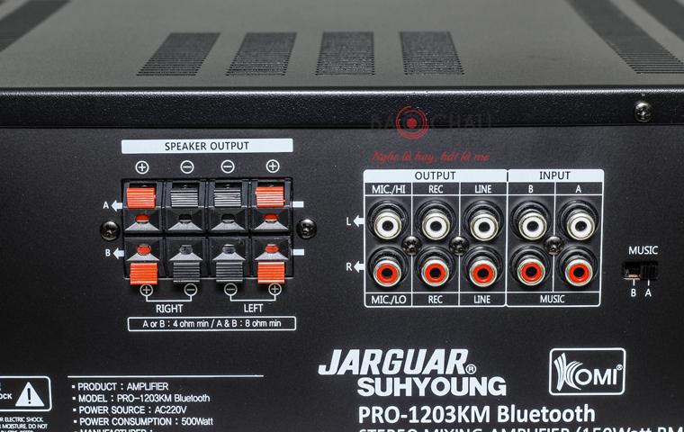 Amply Jarguar 1203KM Bluetooth - pic 08