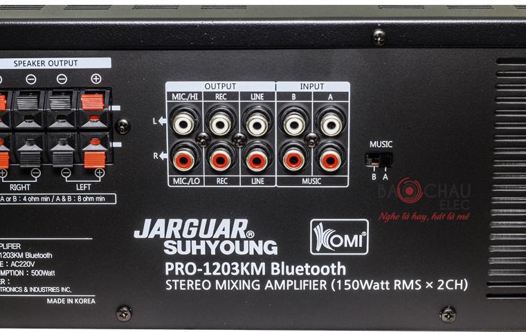 Amply Jarguar 1203KM Bluetooth - pic 09