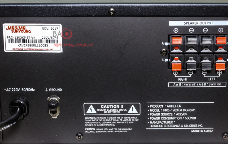 Amply Jarguar 1203KM Bluetooth - pic 10