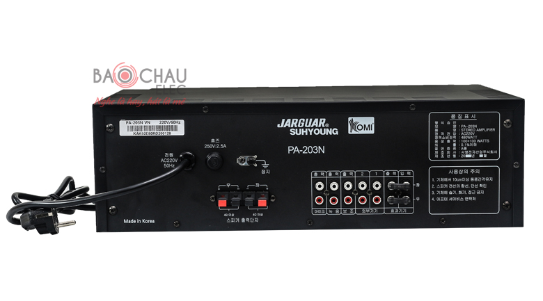 Amply Jarguar 203N Komi nhập khẩu 5