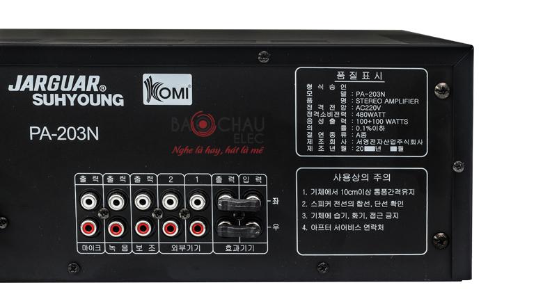 Amply Jarguar 203N Komi nhập khẩu 7