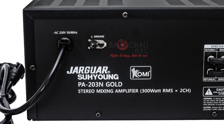 jarguar PA-203n gold 9