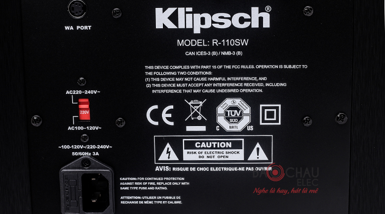 klipsch R-110sw 6
