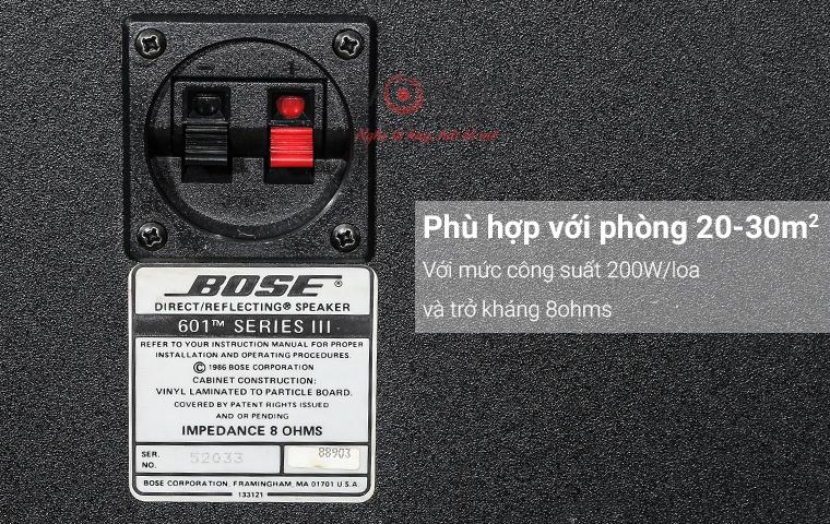 Loa bose 601 series III đen - pic 06